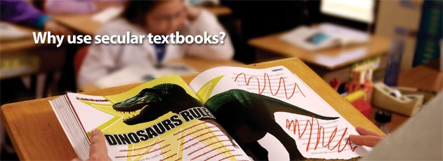 Why use secular textbooks?