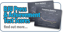 BJU Press' Achievement Test Scores